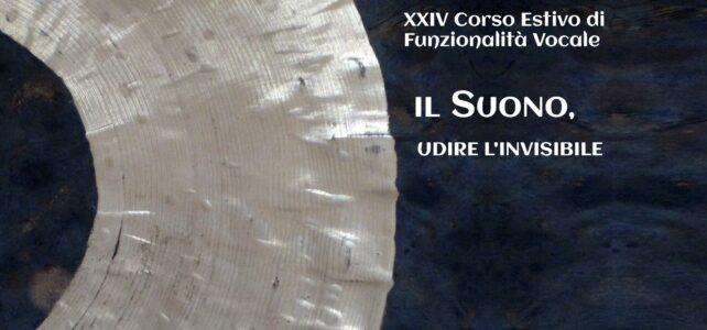XXIV Corso estivo di Funzionalità Vocale